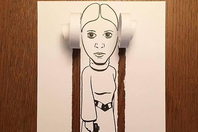 Beberapa Ilustrasi Gabungan Sobekan Kertas dan Gambar, Kreatif Banget!