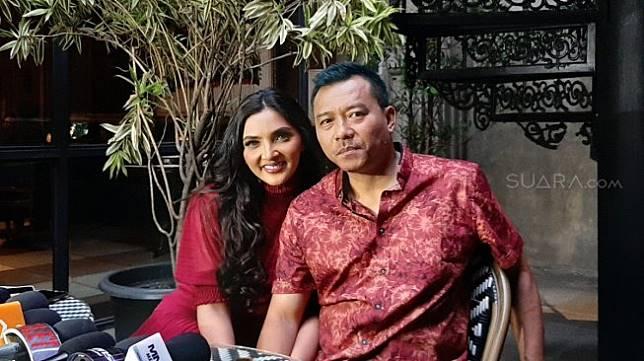 Anang Hermansyah dan Ashanty [Suara.com/Evi Ariska]