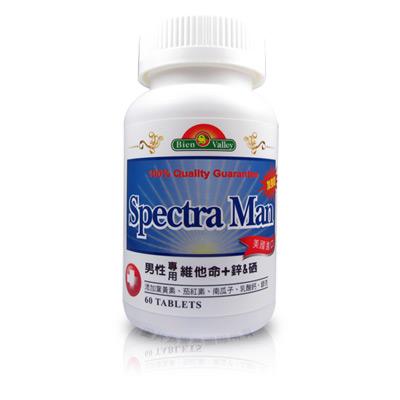 美國培恩加強型男性專用維他命+鋅&硒(60粒/瓶)2入裝