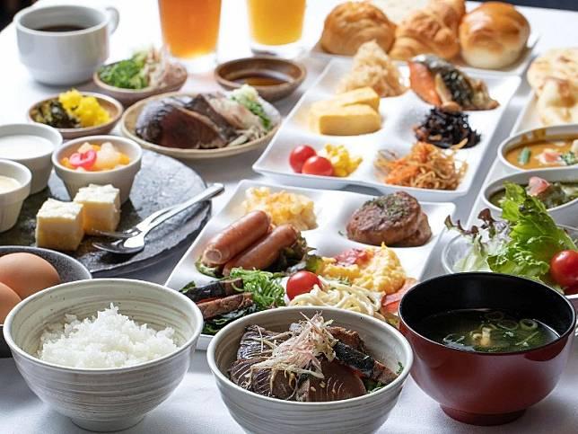 餐廳的早餐選擇相當豐富。(互聯網)