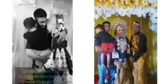 Video Wanita Nangis Dipelukan Mantan Suami. Instagram makassar_iinfo ©2020 Merdeka.com