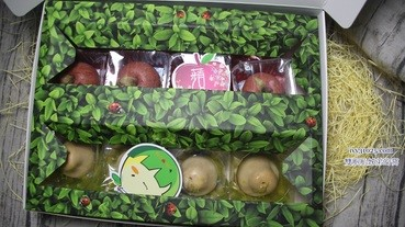 2019蘋安寶柚中秋禮盒   創意月餅   康堤創意烘培   小柚餅和蘋果餅