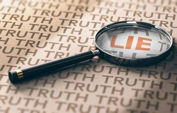 Gerakan kecil membuat kebohongan anda terungkap.