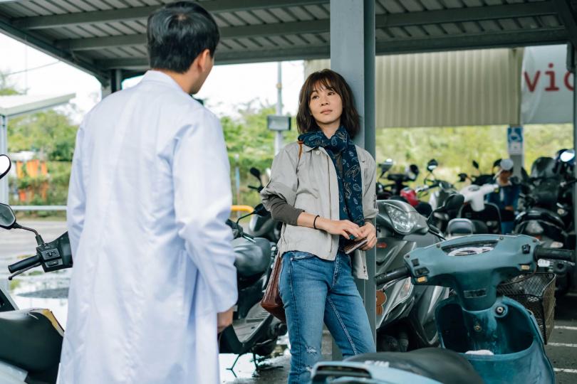 謝盈萱笑稱自己終於可以演個辜負別人的角色了。(圖片/威視提供)