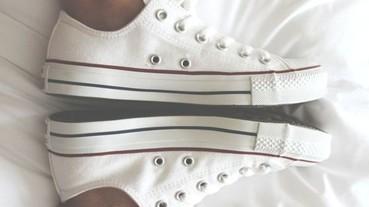 男孩女孩必看 春夏必穿的10大經典白色球鞋!