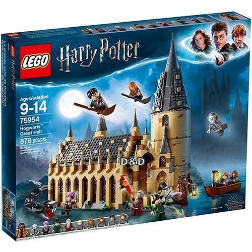 樂高積木 LEGO 2018《 LT75954 》Harry Potter 哈利波特系列 - Hogwarts Great Hall╭★ JOYBUS玩具百貨