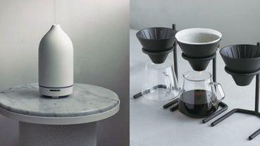 極簡控必收!純白香氛水氧機、手沖咖啡組,10款「療癒舒壓」居家辦公好物推薦