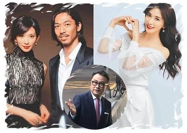 三谷幸喜(圓圖)自爆得知林志玲跟AKIRA結婚,大受打擊。(中時電子報)