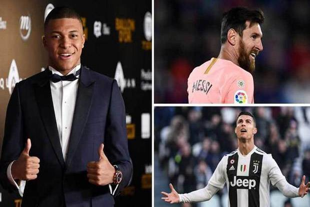 Kylian Mbappe Perusak Catatan Gol Messi dan Ronaldo