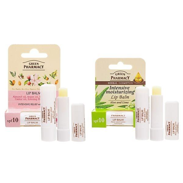 Green Pharmacy 乾荒對策極潤/萊姆保濕/香草潤澤/莓果修護 唇膏(3.6g) 款式可選【小三美日】