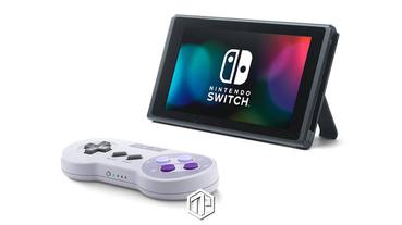 Nintendo 推出經典 SNES 全新 Switch 手柄!
