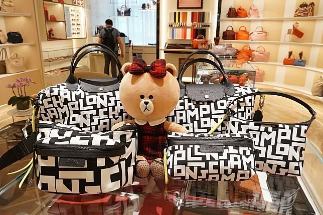 不同大小的袋款,本小姐特別推薦左下Le Pliage LGP Fanny Pack($2,100),類似腰包的設計,特別型格。