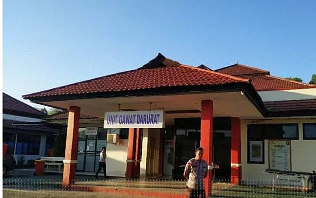Ruang UGD RS Bahayangkara Jayapura, Papua./Antara