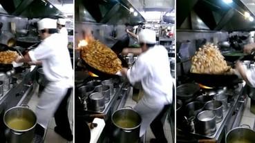 看過這個師傅 你才會知道什麼叫做炒菜!