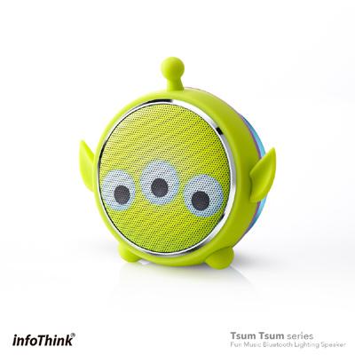 InfoThink TSUM TSUM玩音樂藍牙燈光喇叭-三眼怪Aliens