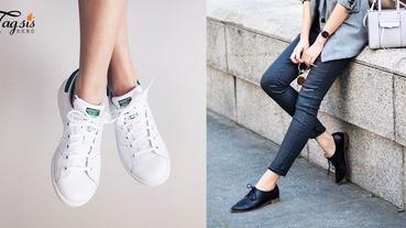 百搭MIX & MATCH!3款穿久久也不膩的小鞋子,除了小白鞋還有這兩款喔〜