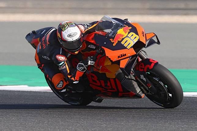 KTM, Aprilia pimpin FP1 Grand Prix Spanyol
