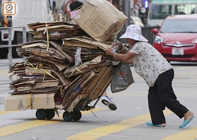香港有高達140.6萬人被界定為貧窮,數字創十年新高。