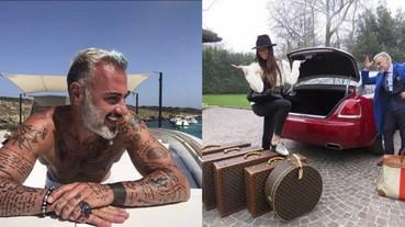 義大利富豪不炫富炫肌肉,看不出來 50 歲的健美身材!