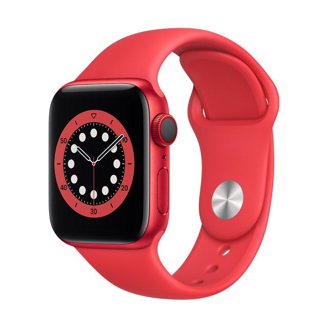 ● GPS + 行動網路★(PRODUCT)RED 運動型錶帶• GPS + 行動網路錶款讓你無需手機就能打電話、傳簡訊,以及取得路線指引• 使用全新的感測器與 app 測量你的血氧濃度• 手腕放下時