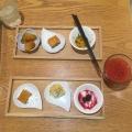 蒸し鶏と豆乳クリーム - 実際訪問したユーザーが直接撮影して投稿した新宿そばめん、色いろ。いつでも、おやつ。 ルミネエスト新宿の写真のメニュー情報