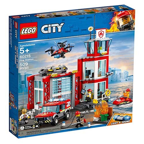 樂高LEGO 60215 City Fire 城市系列 - 消防局