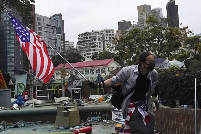China 'will retaliate' if Donald Trump signs Hong Kong Human Rights and Democracy Act into law