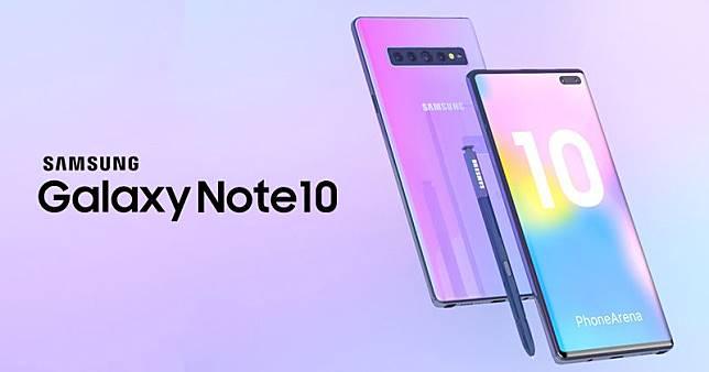 Ilustrasi Samsung Galaxy Note 10