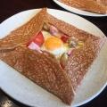 ガレット - 実際訪問したユーザーが直接撮影して投稿した千駄ケ谷カフェブレッツ カフェ クレープリー 新宿タカシマヤ店の写真のメニュー情報