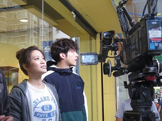 何廣沛與林凱恩喺《食腦喪B》飾演兄妹!