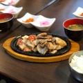 サムギョプサル定食 - 実際訪問したユーザーが直接撮影して投稿した新宿韓国料理本格韓国料理店 招待 新宿東口店の写真のメニュー情報