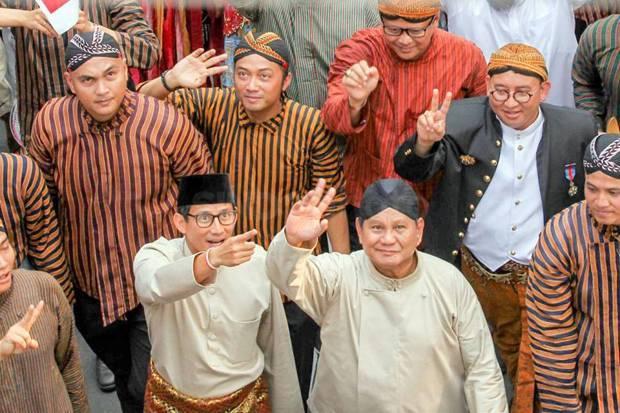 Doa Sandi untuk Prabowo: Selalu Berjiwa Muda dan Semakin Keren
