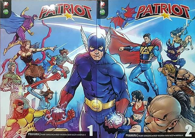 Cover komik Patriot
