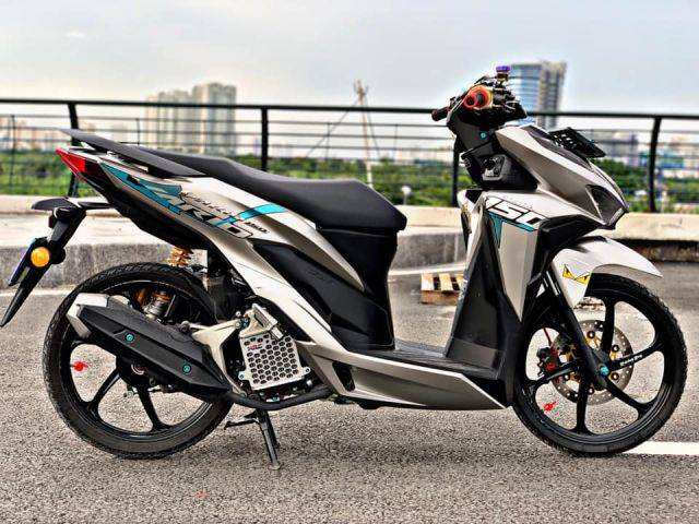 Rombak Sedikit Honda Vario 150 Jadi Superganteng Dan Stylish
