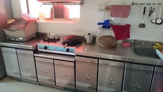 廚房改造案例五:改造前