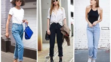 五種街拍照改變你對媽媽復古牛仔褲的印象
