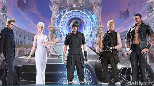 Final Fantasy XV Meluncur di Android dan iOS
