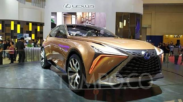 Lexus LF-1 Limitless Concept dipamerkan di GIIAS 2019. 22 Juli 2019. TEMPO/Wawan Priyanto