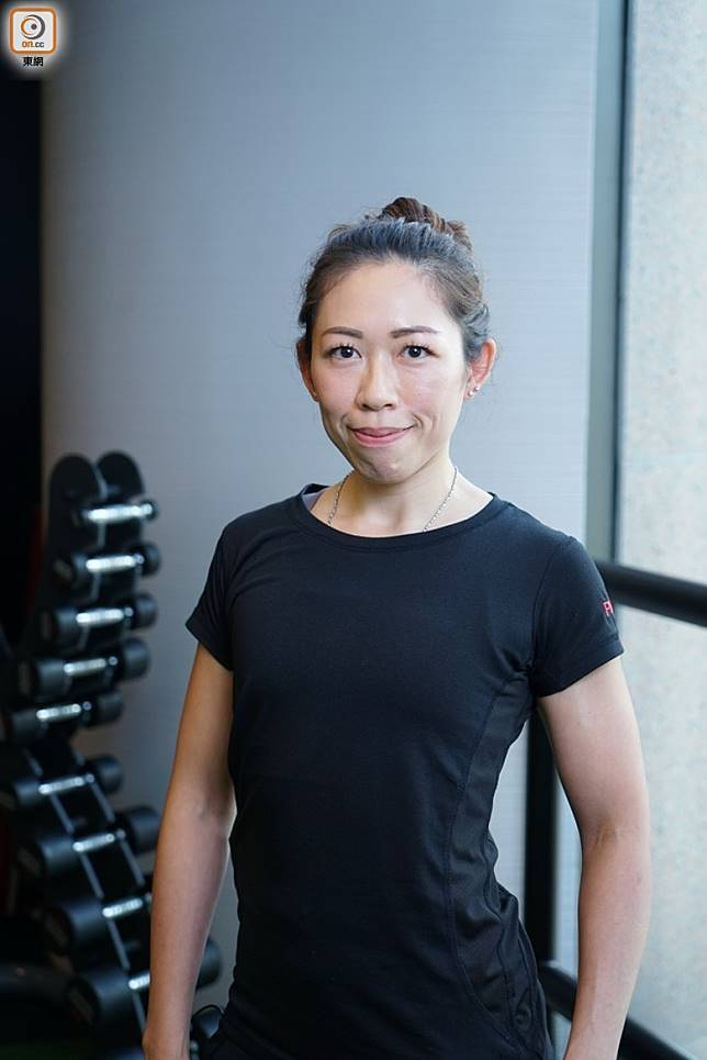 Personal Trainer Nesta Au Yeung(胡振文攝)