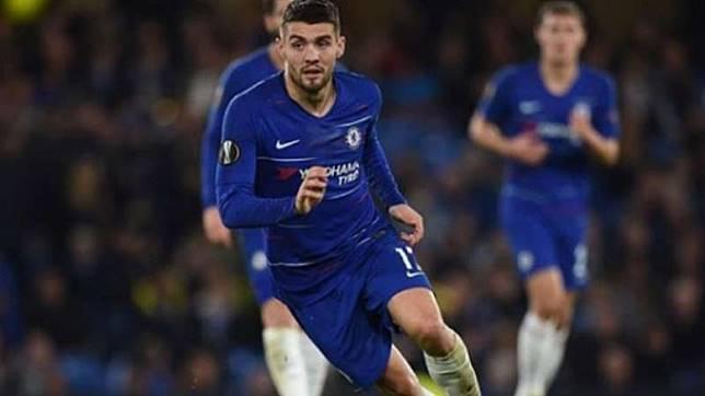 Gelandang Chelsea, Mateo Kovacic.