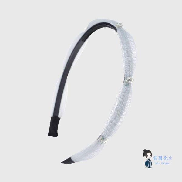 髮箍 韓國簡約髮箍時尚頭箍髮卡頭飾髮夾女扎頭髮卡子洗臉敷面膜束髮帶 4色