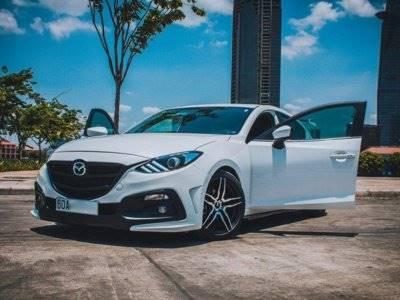 Tampilan Sporty Terhadap Mazda3 Setelah Dimodifikasi
