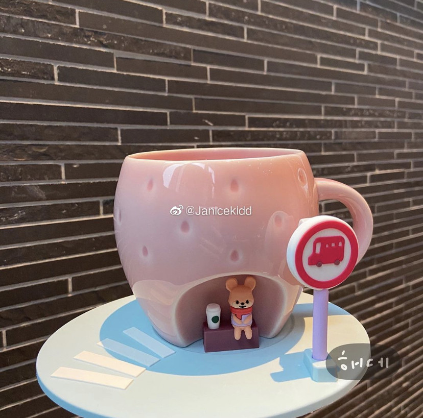 星巴克 鼠年限定 造型杯登場 2020超萌鼠鼠馬克杯 絨毛保溫瓶必收藏 Line購物