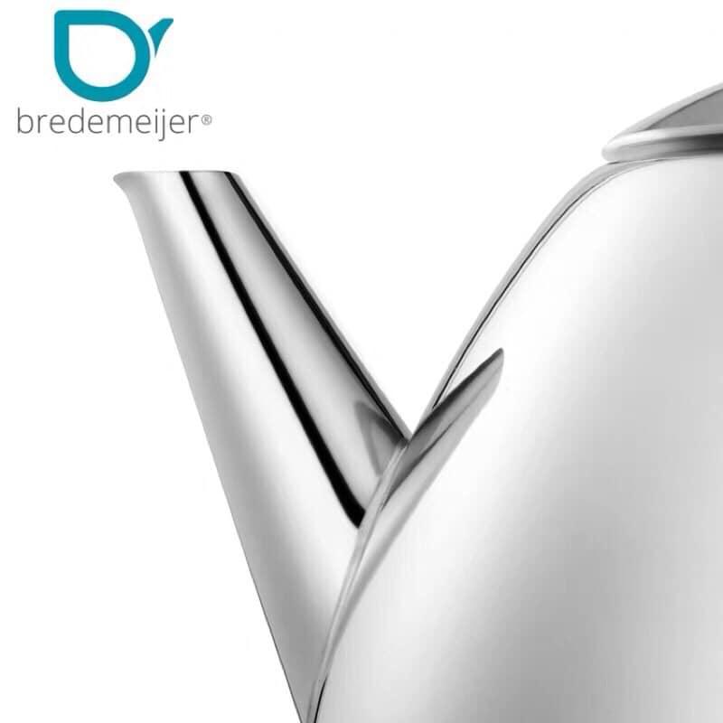 荷蘭百年茶具品牌 Bredemeijer恆溫茶壺304不鏽鋼泡水壺經典家用茶水壺1210Z