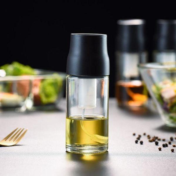 噴油壺噴油瓶橄欖油定量噴霧噴油壺健身噴壺氣壓式食用油控油壺 玩趣3C