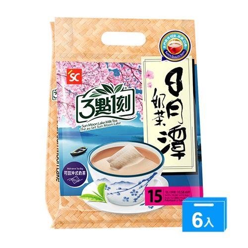 三點一刻日月潭奶茶20G*15*6【愛買】