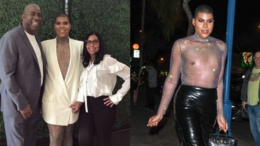 NBA 最妖豔的兒子!魔術強森慶祝 EJ 度過 27 歲生日 一路支持穿著女裝的出櫃同志兒!