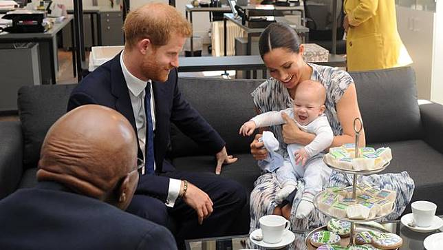Meghan Markle, Pangeran Harry, dan Archie