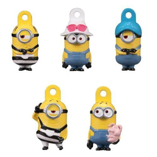 日本 BANDAI 小小兵 MINIONS 玩具沐浴球 泡澡球 入浴劑 洗澡玩具 5款隨機小玩具公仔