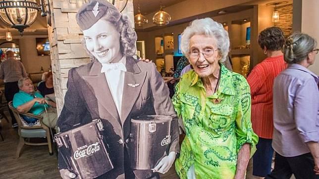 Sybil dan Foto Ikoniknya di Tahun 1940 (Delta News Hub)